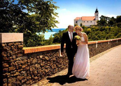 esküvő Tihany