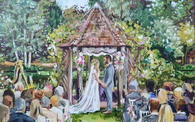 Esküvői festmény? Az meg mi?